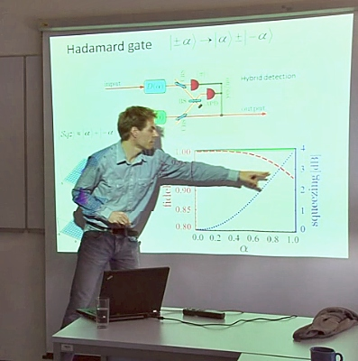 Videos from recent seminar talks on quantum information processing