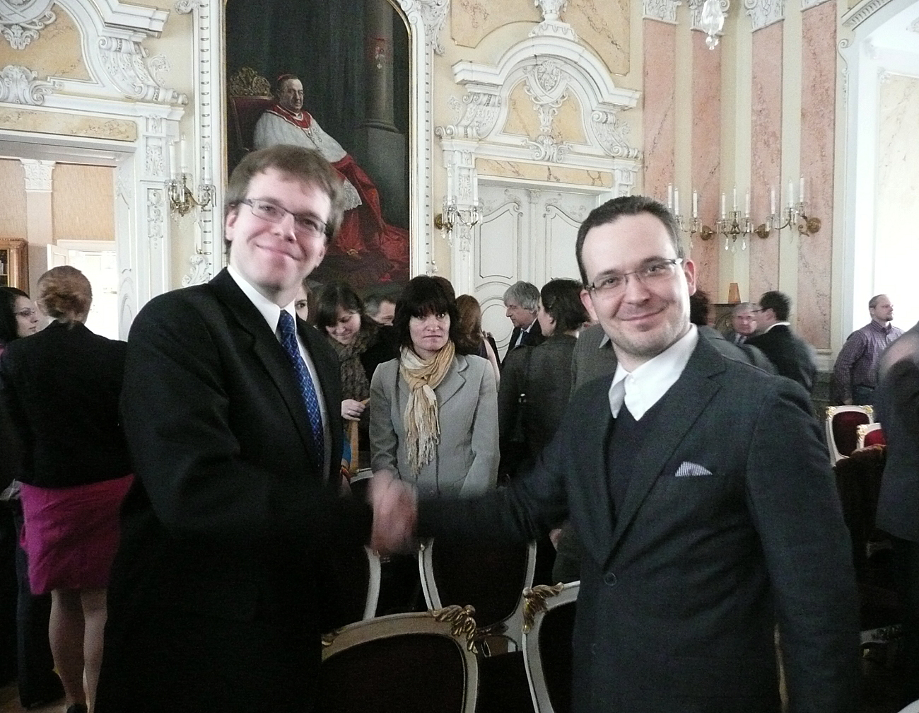 Ivo Straka awarded by Rector's Prize. Congratulations!