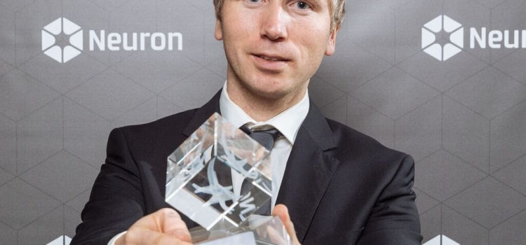 Lukáš Slodička received prestigious Neuron Award